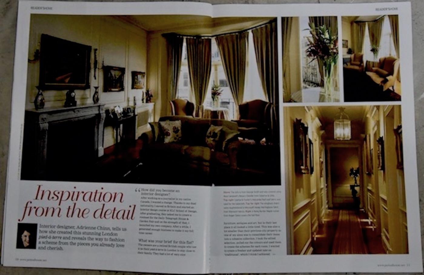 Period House Magazine, Kensington Park Gardens, London p1