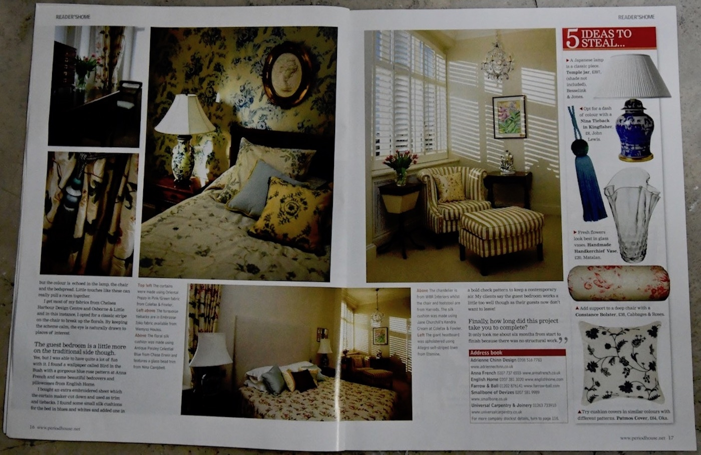 Period House Magazine, Kensington Park Gardens, London p4